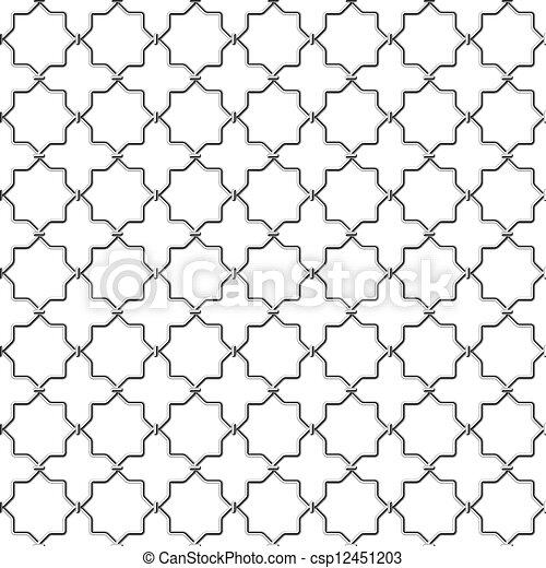 Metal lattice - csp12451203
