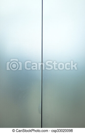 Metal lift elevator doors - csp33020098 & Metal lift elevator doors. Metal elevator lift doors in... stock ...
