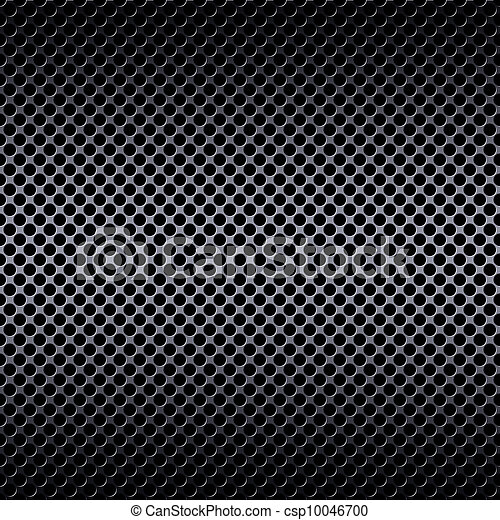 Metal mesh background with reflections - csp10046700