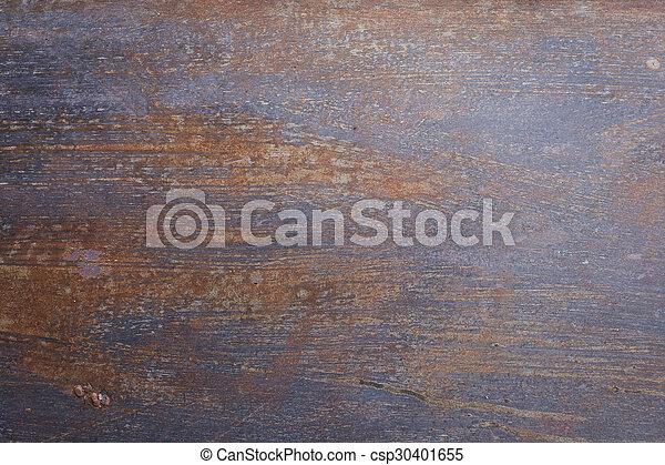 Trasfondo de textura oxidada metálica corroído - csp30401655