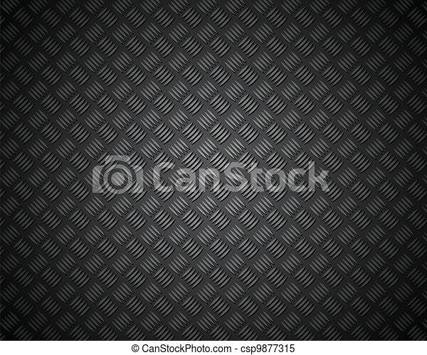 metal pattern texture grid carbon material - csp9877315