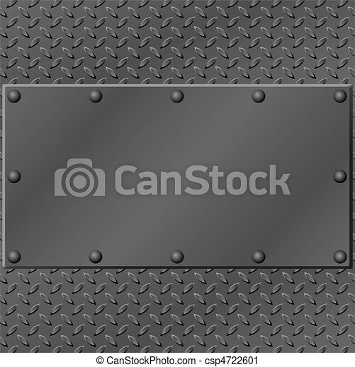 metal, plano de fondo - csp4722601