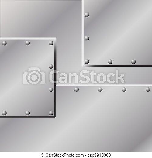 metal, plano de fondo - csp3910000