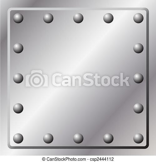 metal, plano de fondo - csp2444112