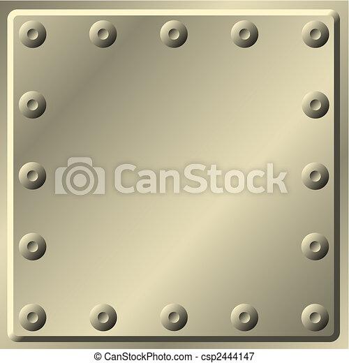 metal, plano de fondo - csp2444147