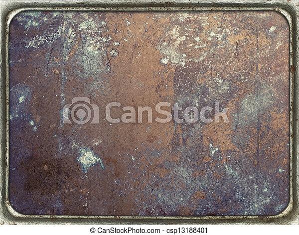Metal plate - csp13188401