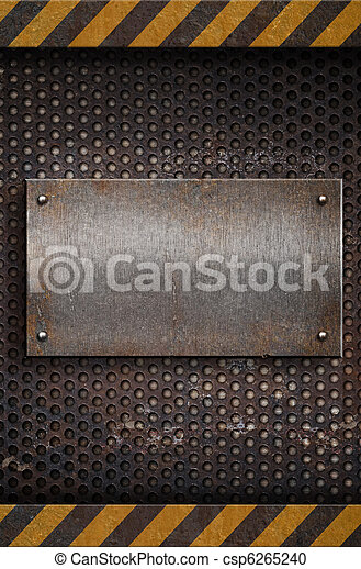 metal plate template - csp6265240