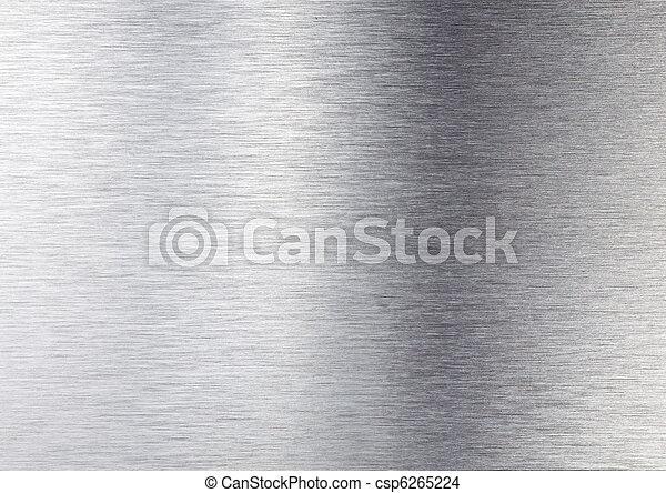 metal, prata, textura - csp6265224