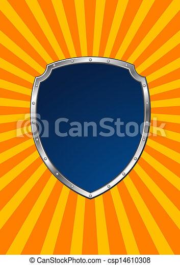 Escudo de metal - csp14610308