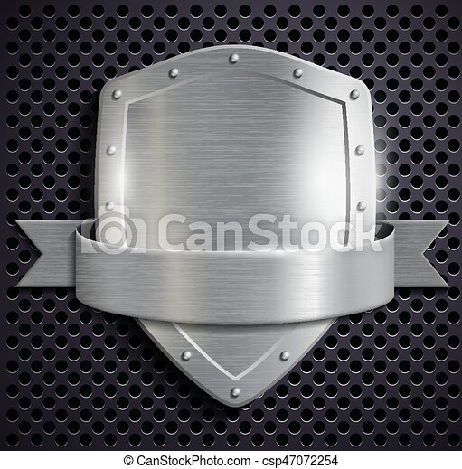 Escudo de metal - csp47072254