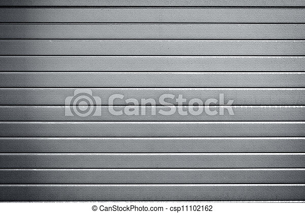 Trasfondo industrial de puertas metálicas - csp11102162