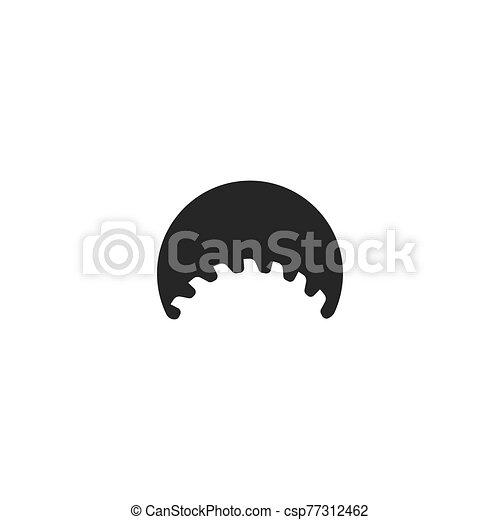 Metal saw logo - csp77312462