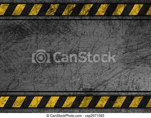 Sucia textura de metal - csp2971593