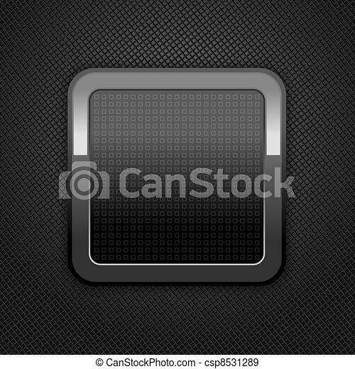 Metal web button - csp8531289