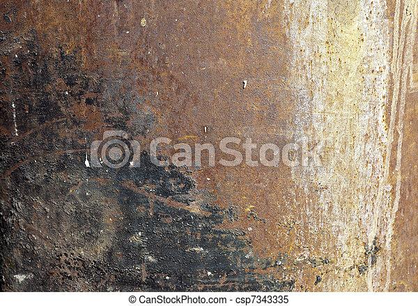 Trasfondo industrial metall - csp7343335