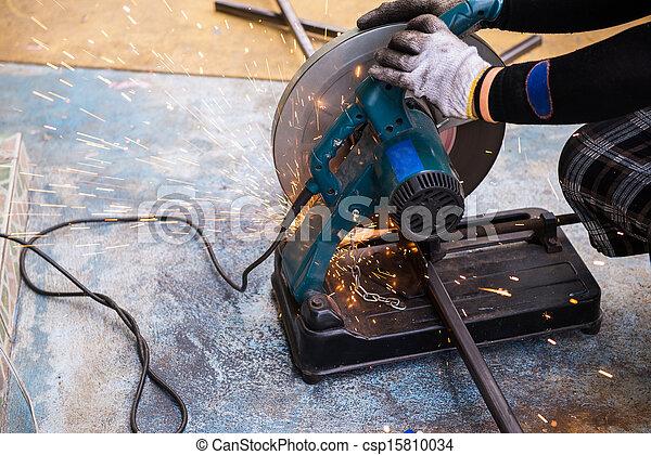 Metall Schneiden Abschneiden Sage
