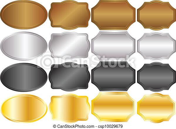 metallic backgrounds - csp10029679