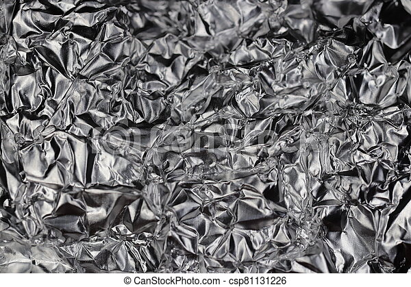 Metallic Black & White Background Texture - csp81131226
