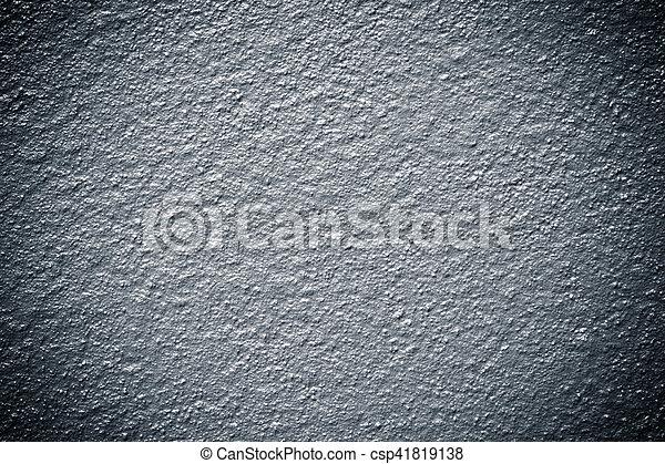 Grunge metallic blue paint textured background wall