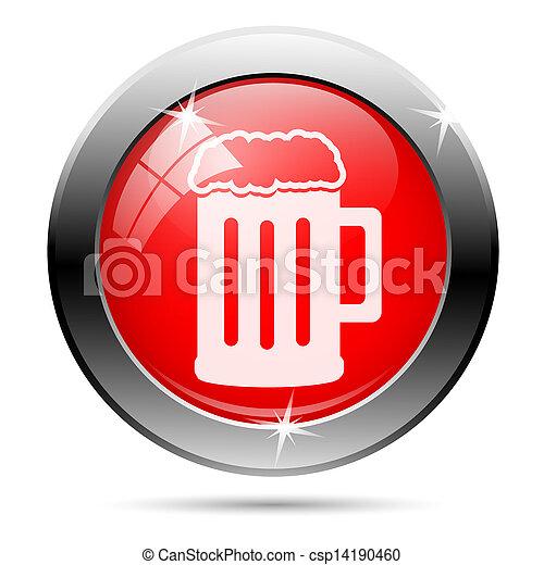Metallic glossy icon - csp14190460
