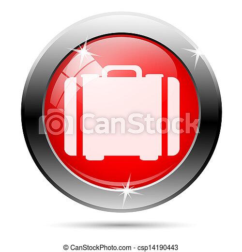 Metallic glossy icon - csp14190443