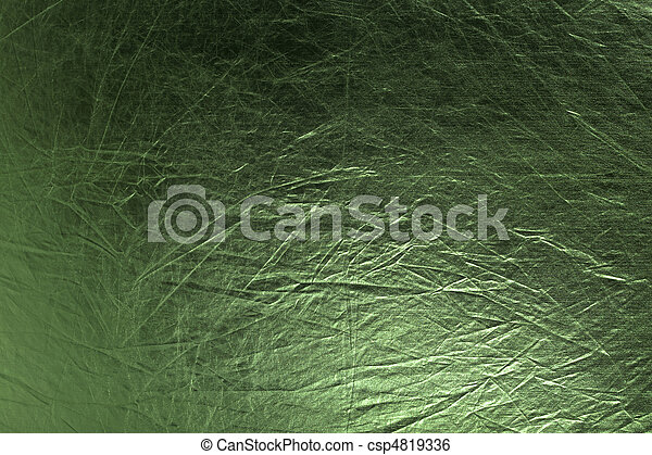 metallic green background  - csp4819336