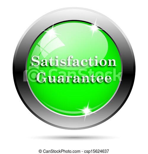 Metallic green glossy icon - csp15624637