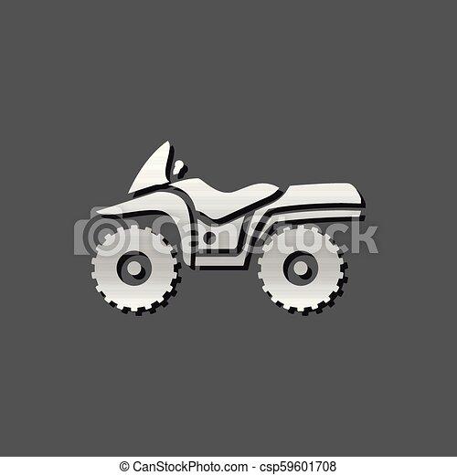Metallic Icon - All terrain vehicle - csp59601708