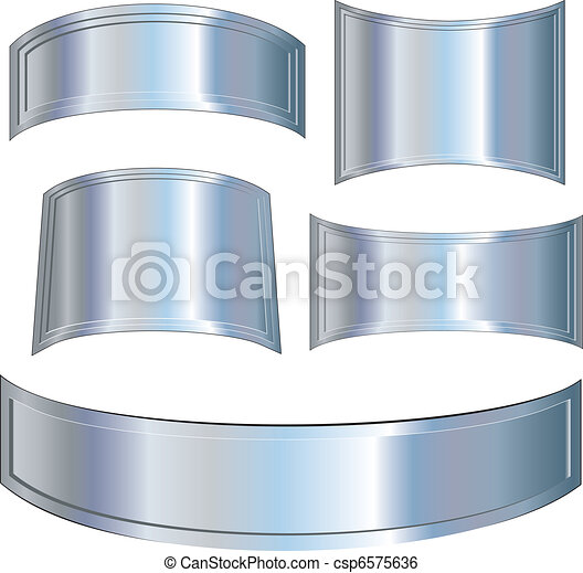 Metallic plates - csp6575636