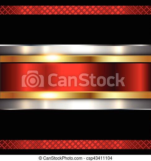 metallico, baluginante, metallo, fondo, struttura - csp43411104