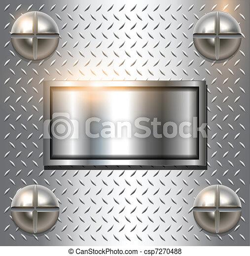 metallo, fondo - csp7270488