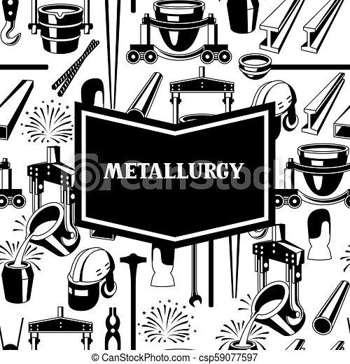 Metallurgical background design. - csp59077597
