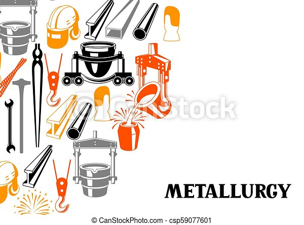 Metallurgical background design. - csp59077601