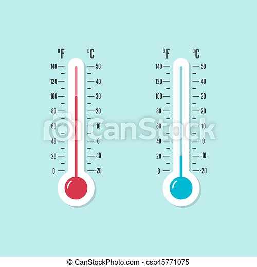 meteorology thermometer with celsius fahrenheit the meteorology