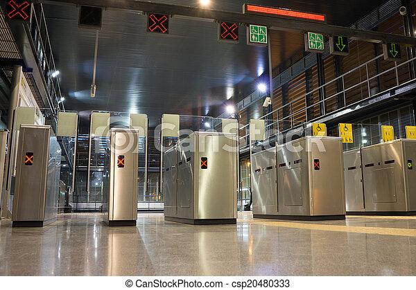 Metro Entrance - csp20480333