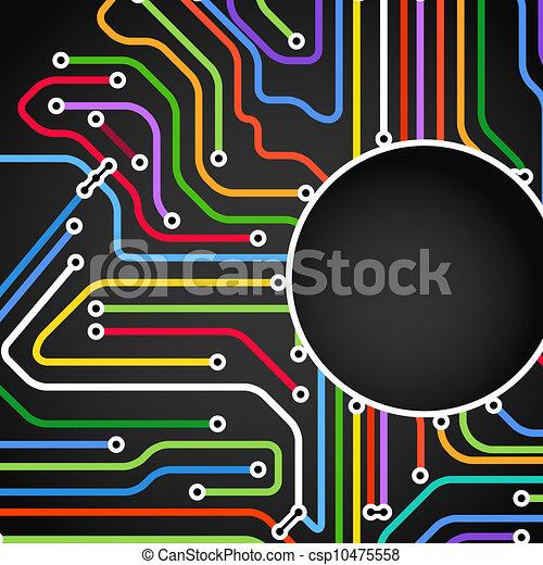 metro, kolor, tekst, abstrakcyjny, kwestia, tło, ułożyć - csp10475558