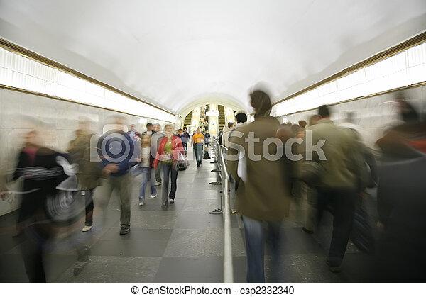 metro traffic - csp2332340