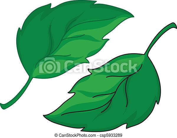 mette foglie - csp5933289