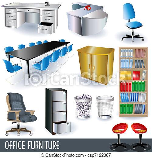 meubles bureau - csp7122067