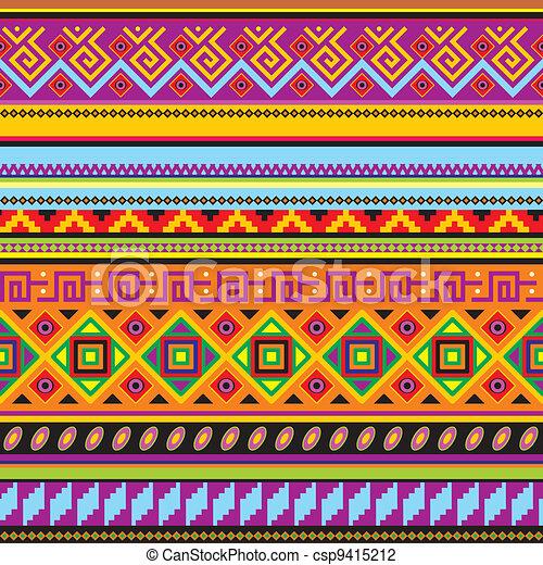 mexicain, fond - csp9415212