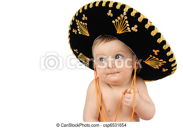 Mexican baby - csp6531654