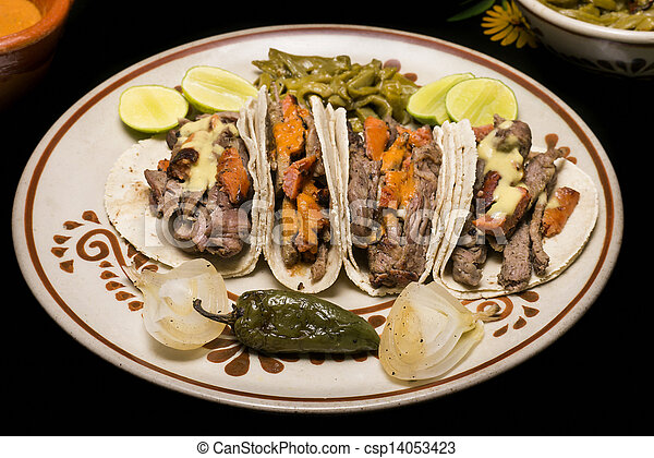 Mexican Beef Tacos - csp14053423