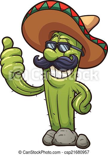 Mexican cactus - csp21680957