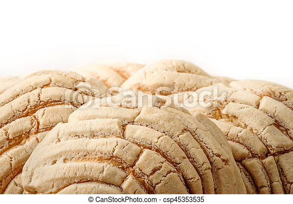mexican conchas sweet bread. conchas sweet bread traditional