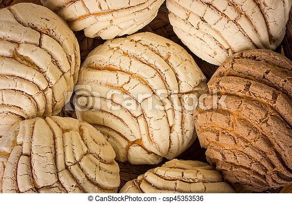 Mexican Conchas Sweet Bread Conchas Sweet Bread Traditional Bakery