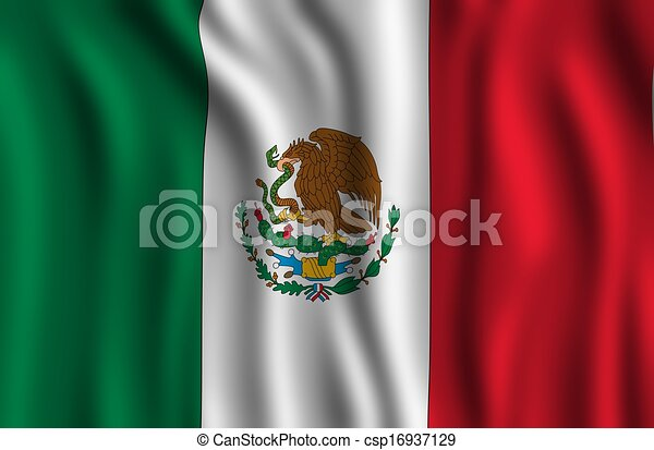 Mexican Flag - csp16937129