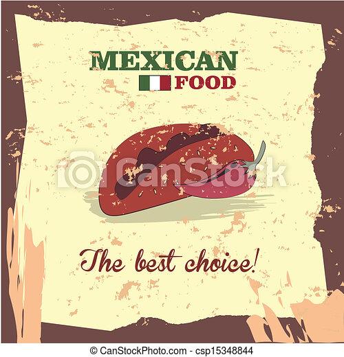 mexican food - csp15348844