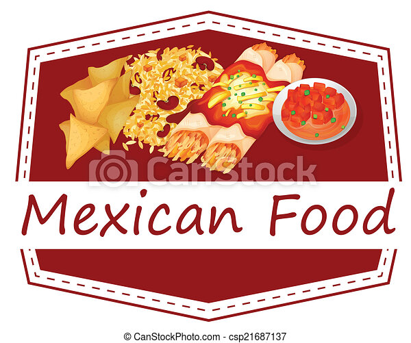 Mexican food - csp21687137