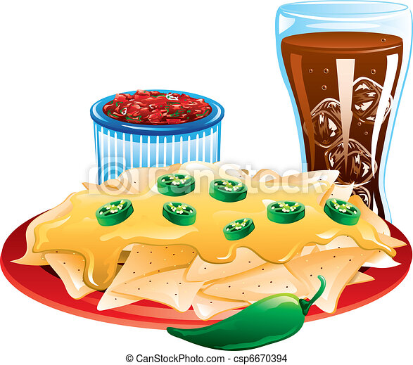 Mexican Food icons - csp6670394