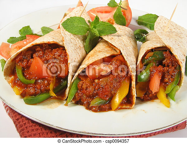 mexican food - csp0094357